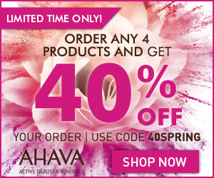 AHAVA Coupon Offers Deals Voucher Code